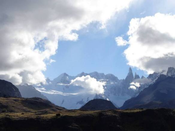 Mount Fitz Roy, in the Southern Patagonian Ice Field in Patagonia