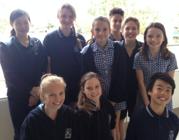 The Grade Six team behind the Positive Play Project