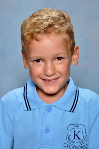 Tom's first School Pic