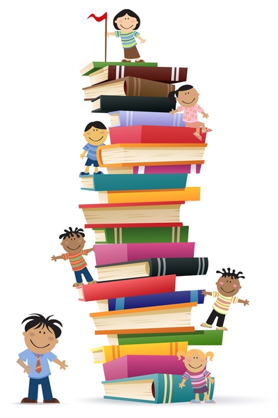 kids-reading-stack